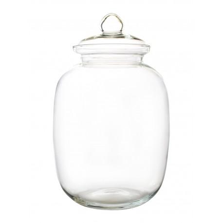 Wazon słój Balon S + szklana przykrywka