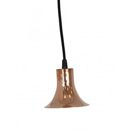 Miedziana lampa wisząca Tube